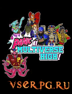 Постер игры PANIC at Multiverse High