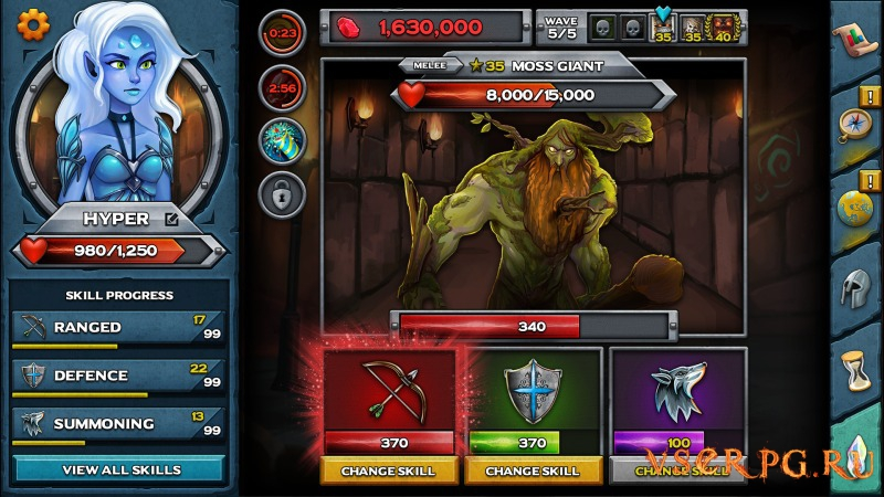 RuneScape: Idle Adventures screen 2