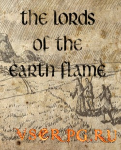 Постер игры The Lords of the Earth Flame