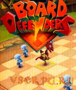 Постер игры Board Defenders