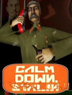 Постер игры Calm Down Stalin