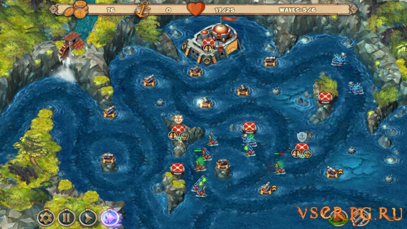Iron Sea Defenders screen 3
