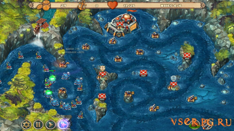 Iron Sea Defenders screen 1