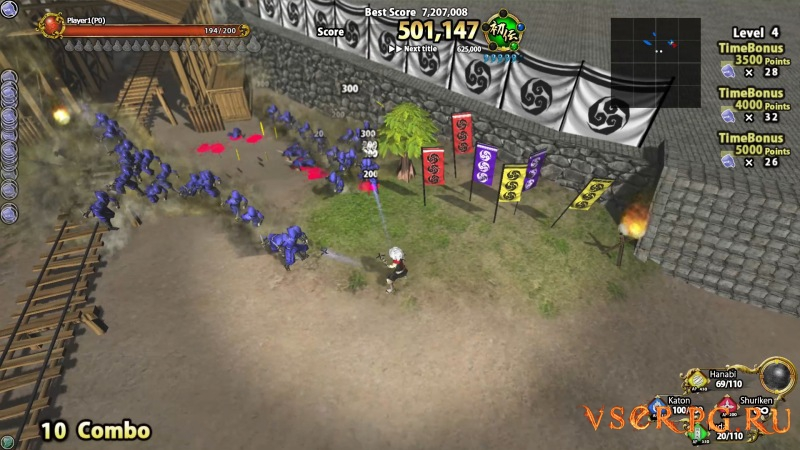 Diorama Battle of NINJA screen 1