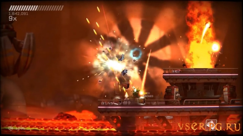 RIVE: Wreck, Hack, Die, Retry screen 3