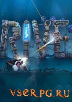 Постер игры RIVE: Wreck, Hack, Die, Retry