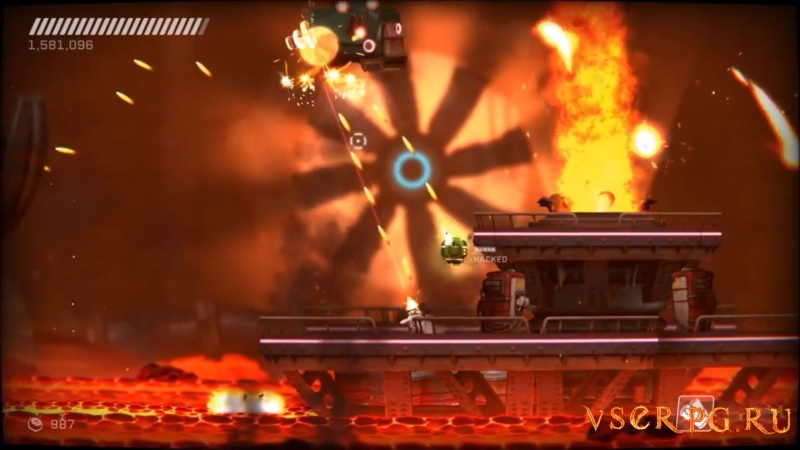RIVE: Wreck, Hack, Die, Retry screen 2