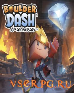 Постер игры Boulder Dash 30th Anniversary
