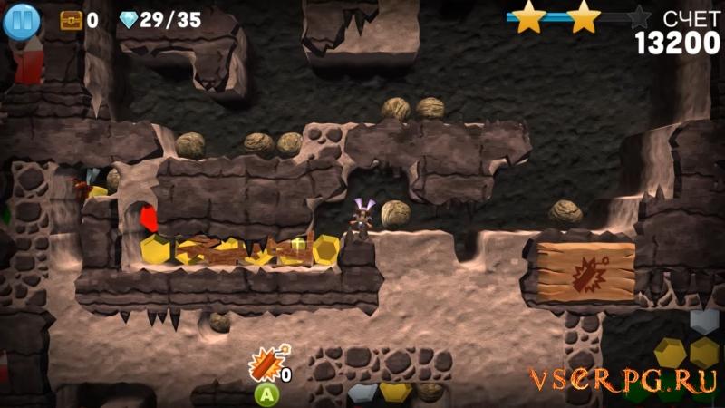 Boulder Dash 30th Anniversary screen 2
