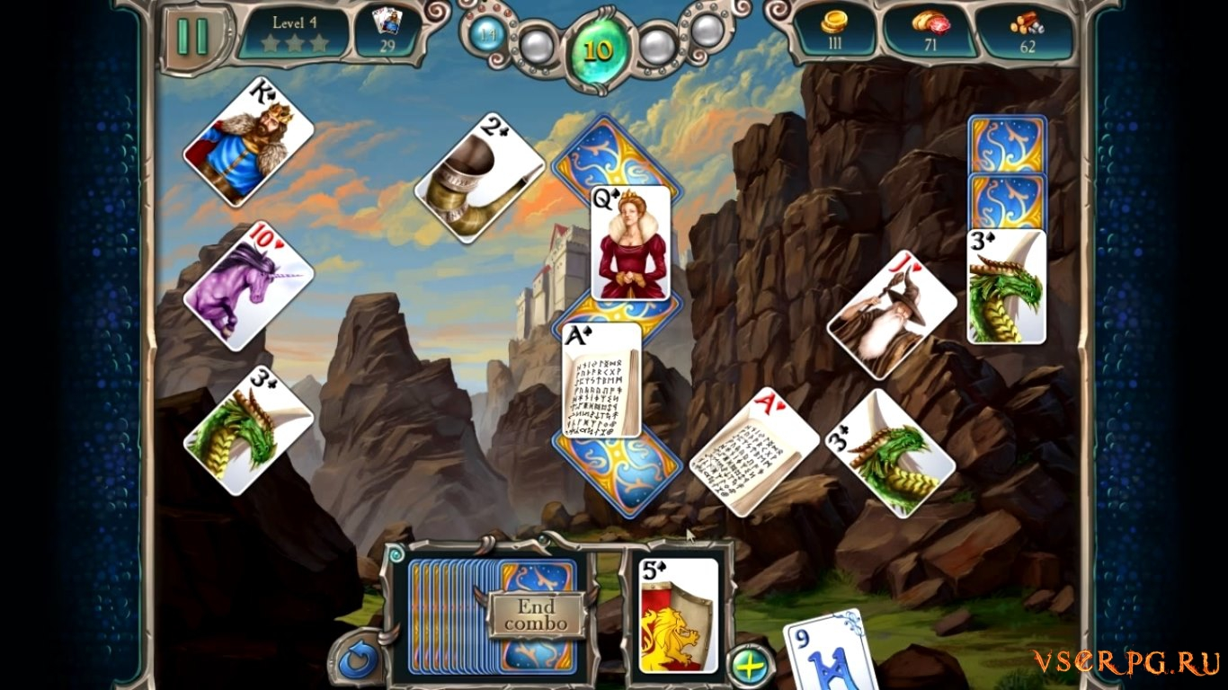 Avalon Legends Solitaire 2 screen 3