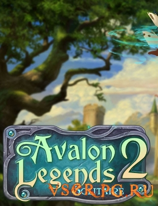 Постер игры Avalon Legends Solitaire 2