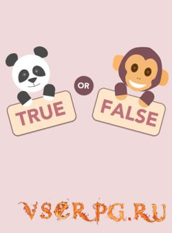 Постер игры True or False