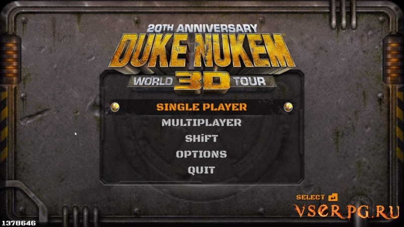Duke Nukem 3D: 20th Anniversary World Tour screen 1