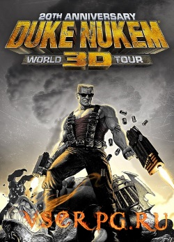 Постер игры Duke Nukem 3D: 20th Anniversary World Tour