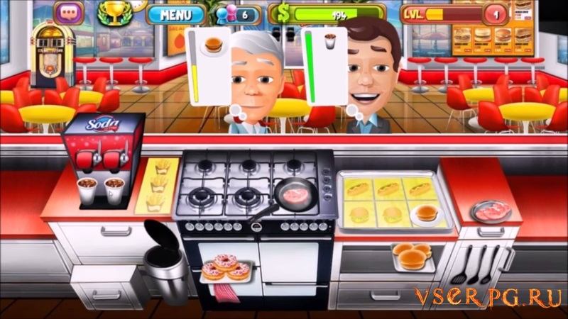 The Cooking Game screen 3