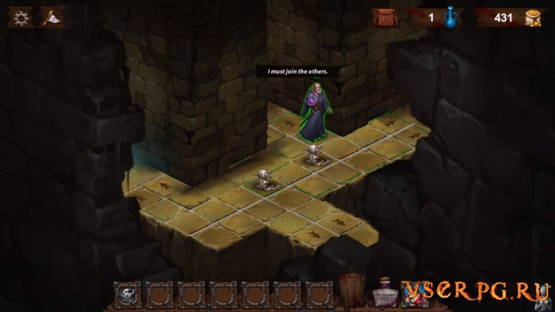 Dark Quest 2 screen 2