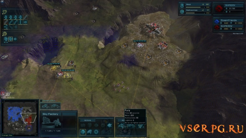Ashes of the Singularity: Escalation screen 2