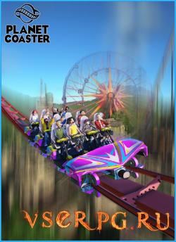 Постер игры Planet Coaster