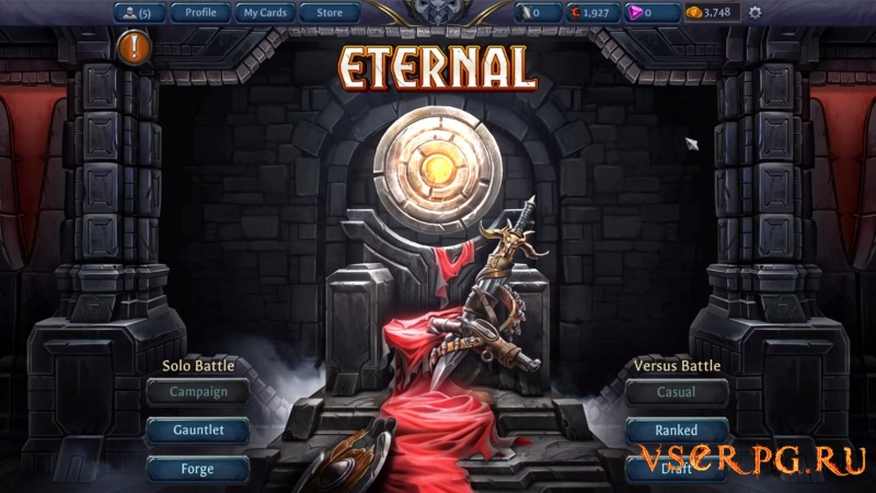 Eternal Card Game screen 1