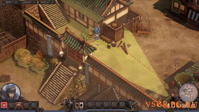 Shadow Tactics: Blades of the Shogun screen 3