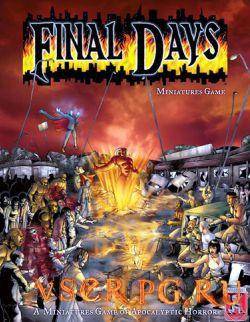 Постер игры Final Days