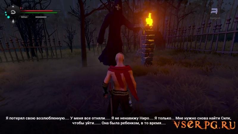 Blade & Bones screen 2