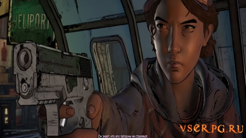 The Walking Dead: A New Frontier screen 2