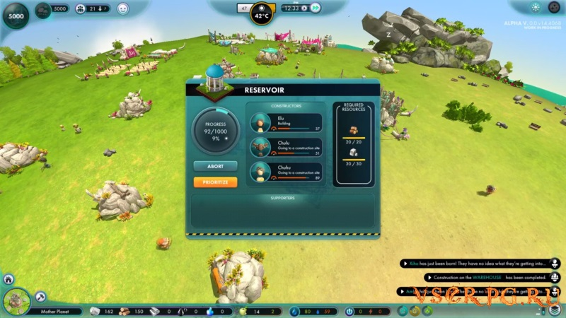 The Universim screen 2