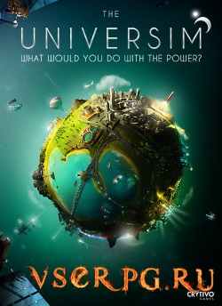 Постер игры The Universim