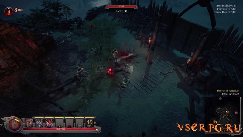 Vikings Wolves of Midgard screen 1