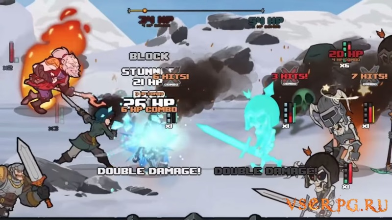Has-Been Heroes screen 1