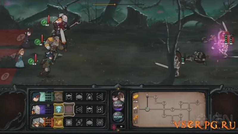 Has-Been Heroes screen 2
