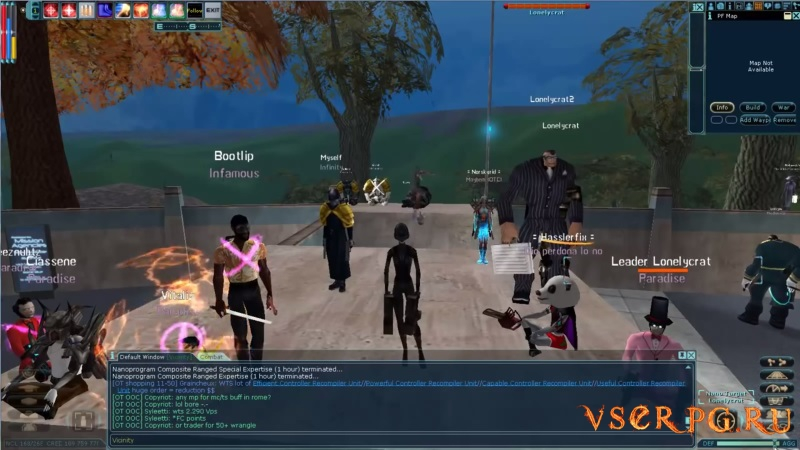 Anarchy Online screen 1