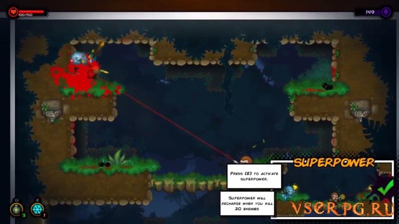 Badass Hero screen 1