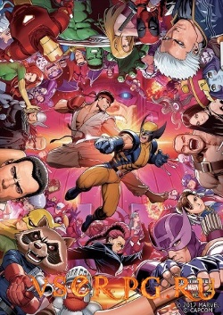 Постер ULTIMATE MARVEL VS CAPCOM 3