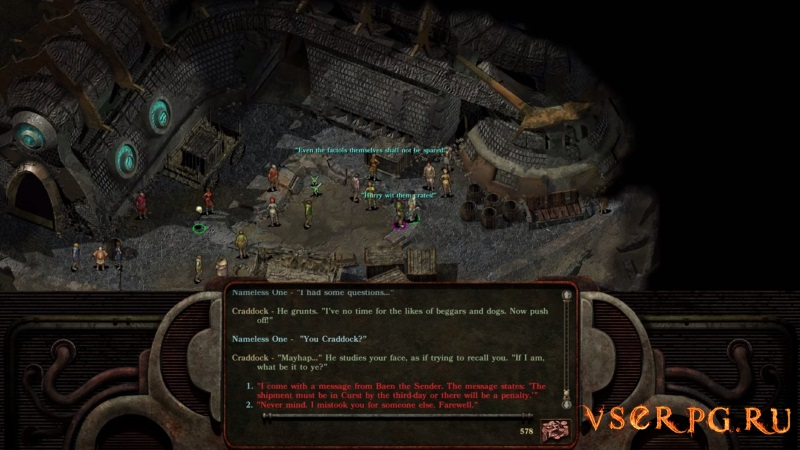 Planescape Torment Enhanced Edition screen 2