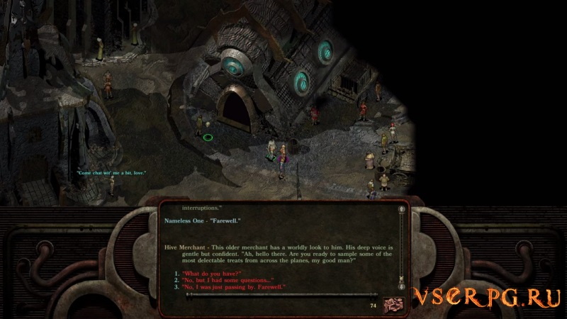 Planescape Torment Enhanced Edition screen 1