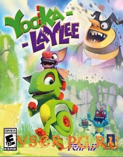 Постер игры Yooka-Laylee