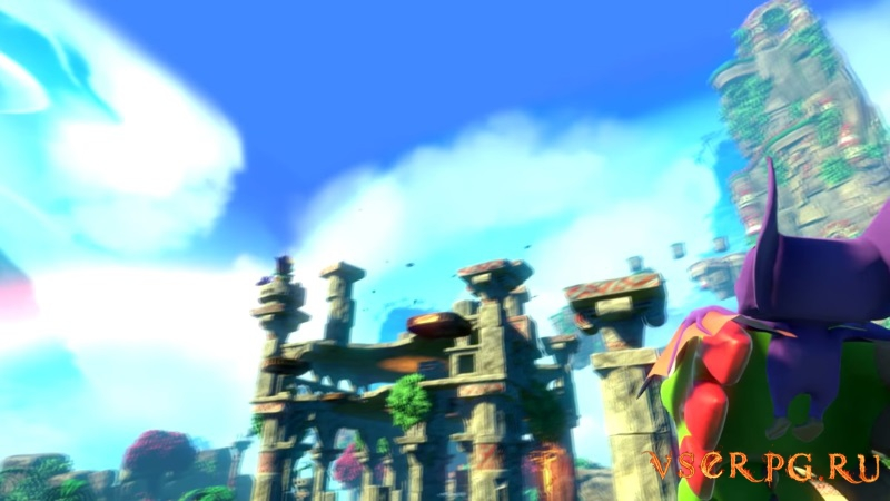 Yooka-Laylee screen 1