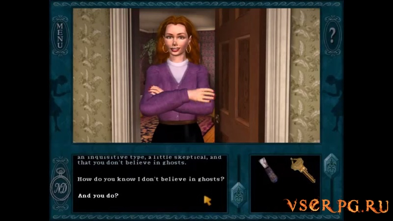 Nancy Drew Message in a Haunted Mansion / Нэнси Дрю и Призрак в гостинице screen 2