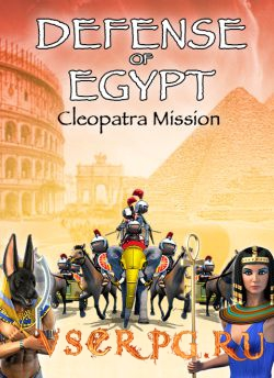 Постер игры Defense of Egypt Cleopatra Mission