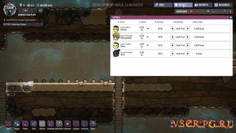 Oxygen Not Included screen 2