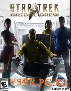Постер игры Star Trek Bridge Crew