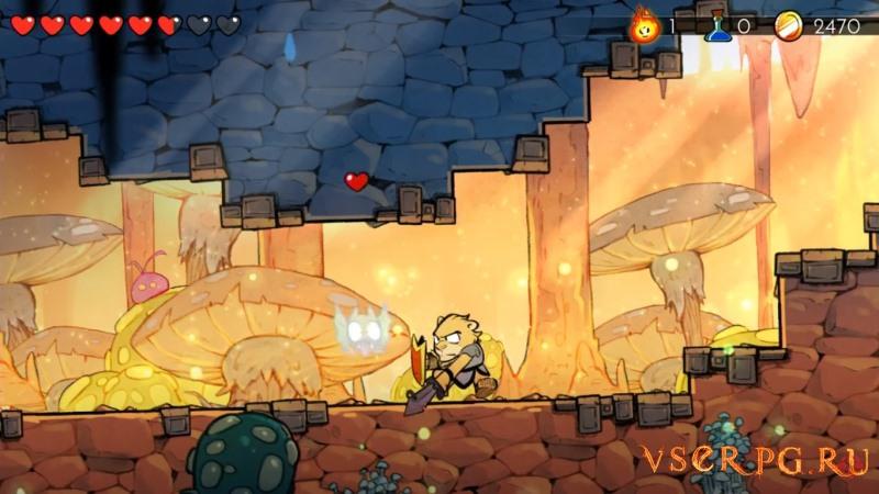 Wonder Boy: The Dragon's Trap screen 1