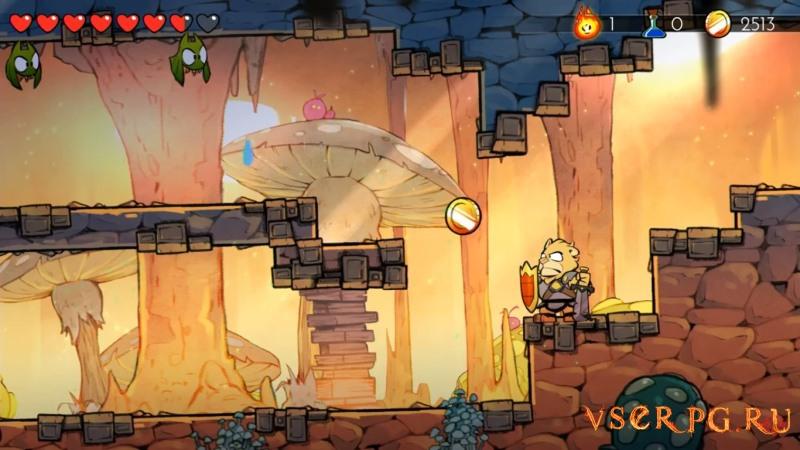 Wonder Boy: The Dragon's Trap screen 3