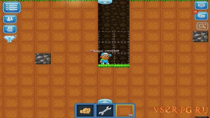 Pixel Worlds screen 1