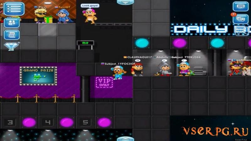 Pixel Worlds screen 2