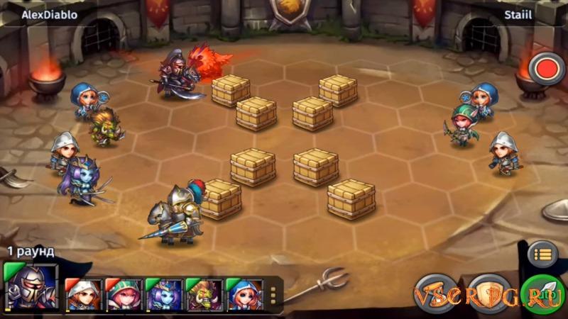 Heroes Tactics screen 2