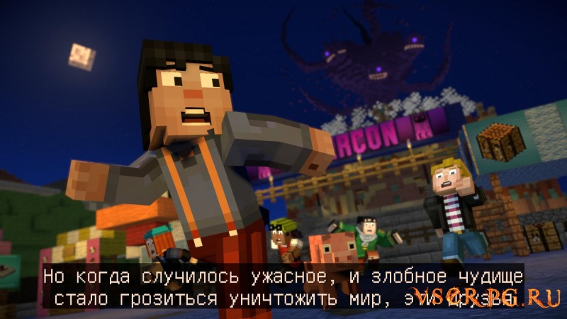Minecraft Story Mode Season Two screen 3