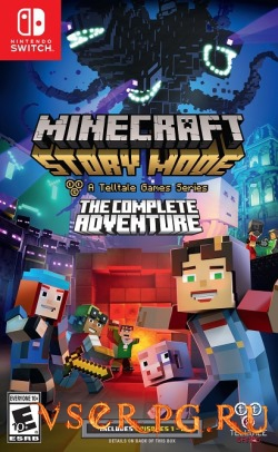 Постер игры Minecraft Story Mode Season Two